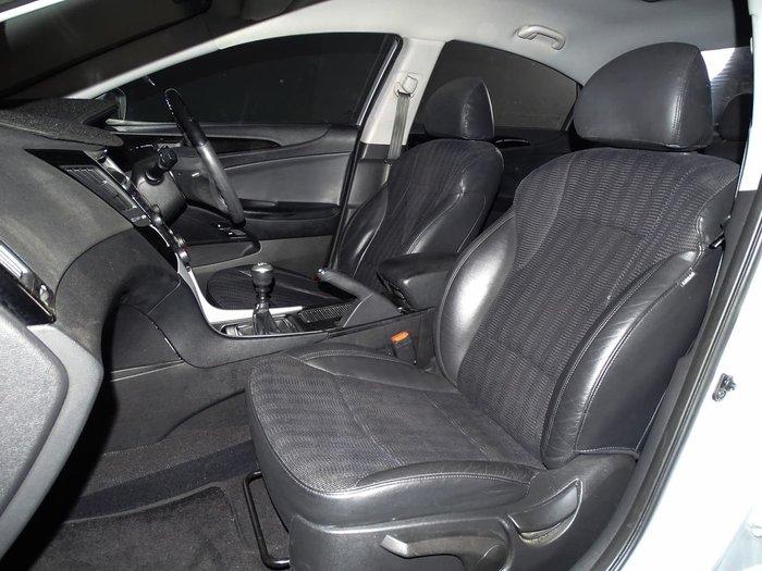 2012 Hyundai i45 Active YF MY11 Silver
