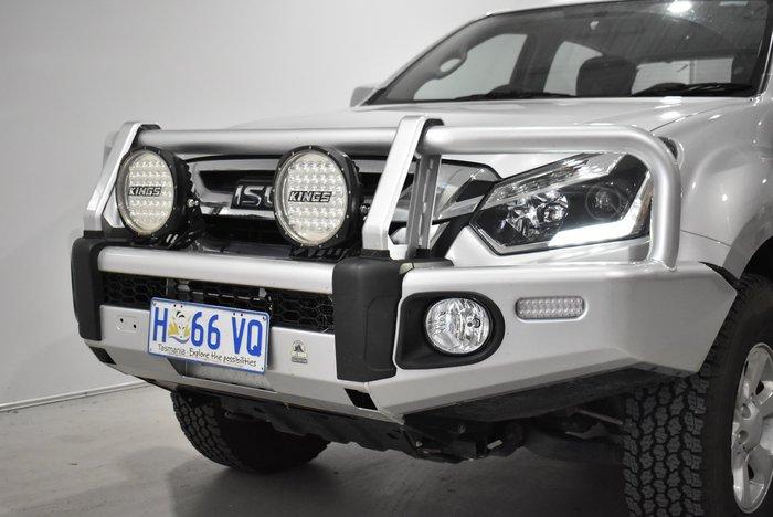 2018 Isuzu D-MAX LS-M MY18 4X4 Dual Range Titanium Silver