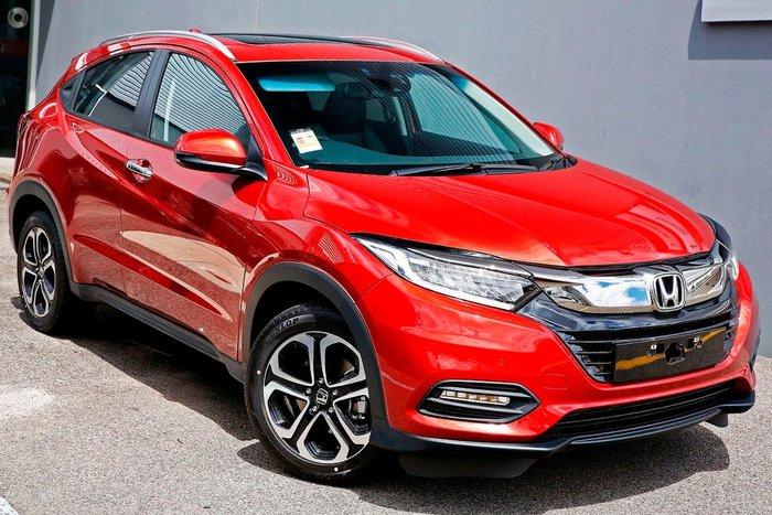 2020 Honda HR-V VTi-LX MY21 Red