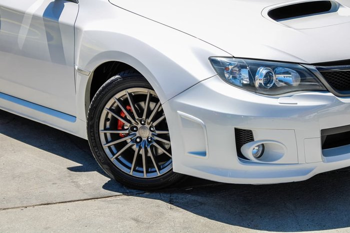 2011 Subaru Impreza WRX G3 MY11 Four Wheel Drive White