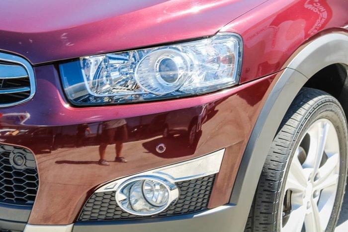 2013 Holden Captiva 7 LX CG Series II MY12 4X4 On Demand Red
