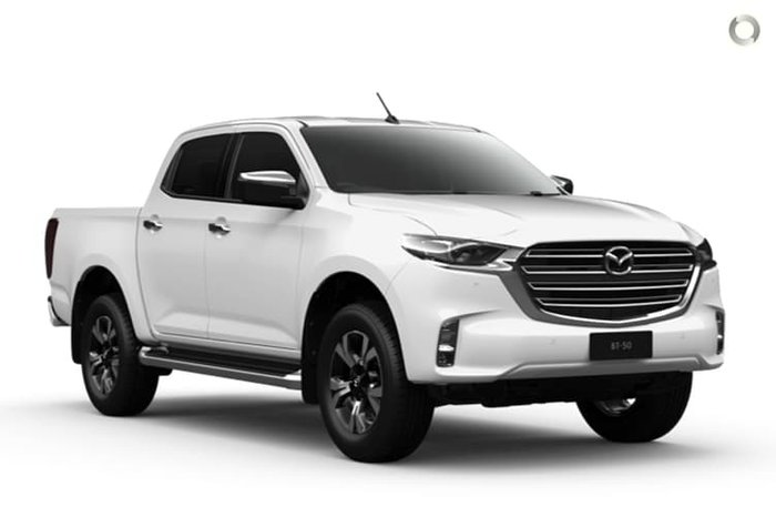 2020 Mazda BT-50 GT TF 4X4 Dual Range Ice White