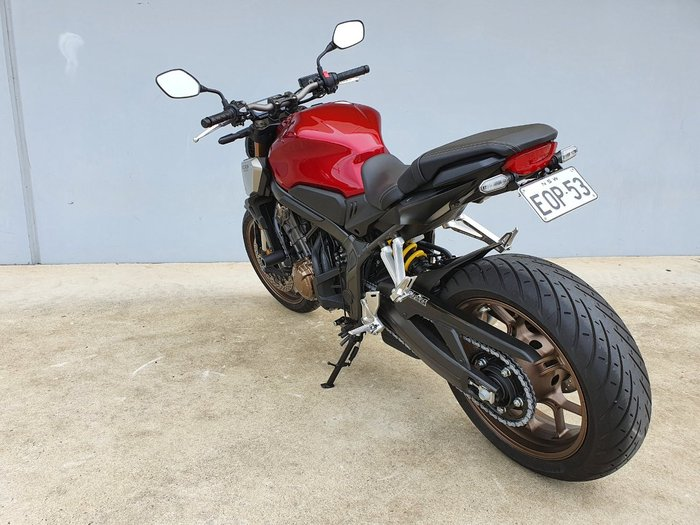 2020 Honda CB650R Red