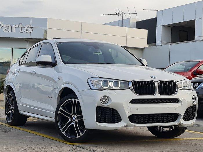 2016 BMW X4 xDrive20d F26 4X4 Constant White