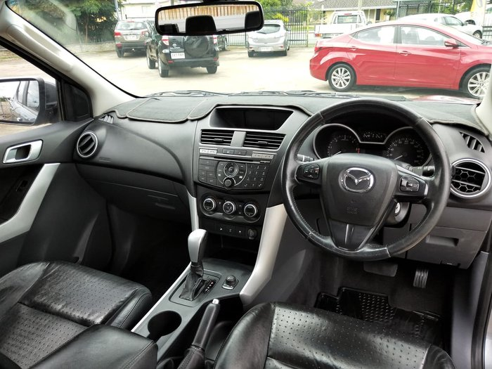 2012 Mazda BT-50 GT UP 4X4 Dual Range Grey