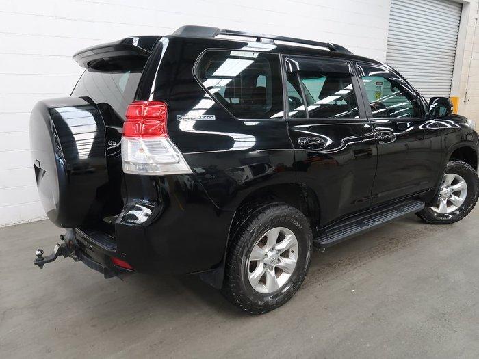 2009 Toyota Landcruiser Prado GXL KDJ150R 4X4 Constant Black