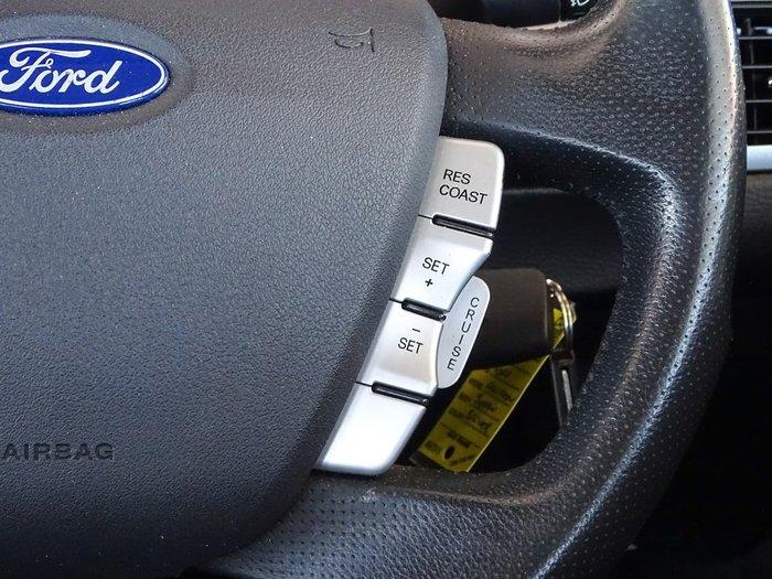 2010 Ford Falcon G6 FG Silver