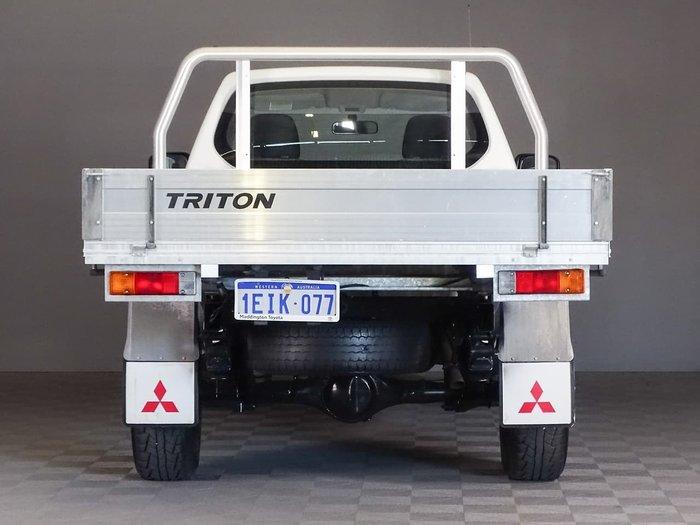 2013 Mitsubishi Triton GL MN MY13 White