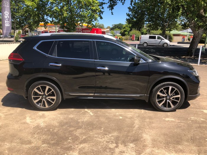 2017 Nissan X-TRAIL TL T32 Series II 4X4 On Demand Diamond Black