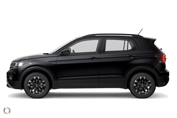 2020 Volkswagen T-Cross 85TSI Life C1 MY21 Deep Black