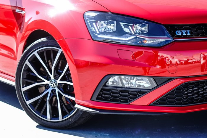 2015 Volkswagen Polo GTI 6R MY16 Red