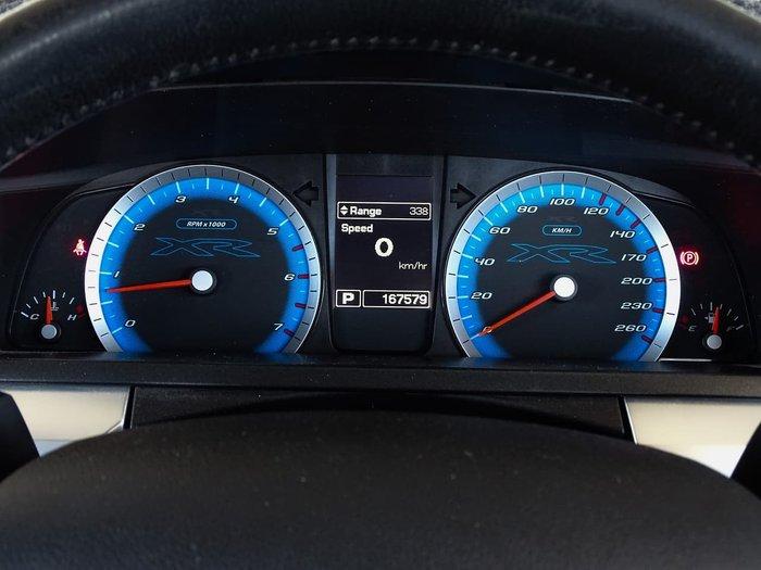 2011 Ford Falcon XR6 FG Maroon