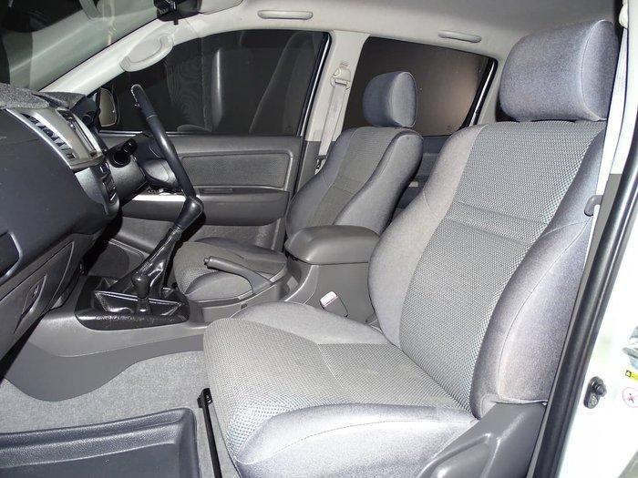 2012 Toyota Hilux SR5 KUN26R MY12 4X4 Silver