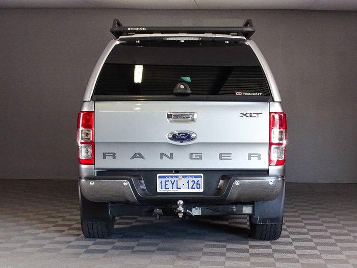 2016 Ford Ranger XLT PX MkII 4X4 Dual Range Silver