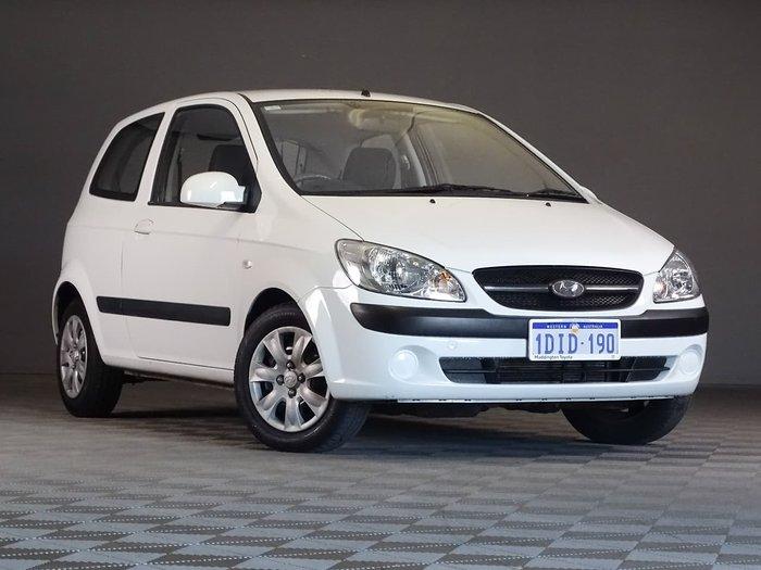 2010 Hyundai Getz S TB MY09 White