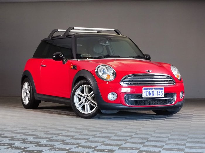 2011 MINI Hatch Cooper R56 LCI Red