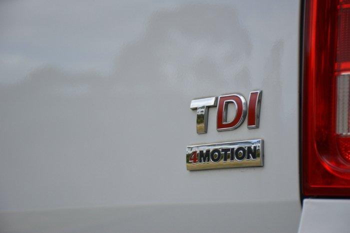 2012 Volkswagen Amarok TDI400 Highline 2H MY12.5 4X4 Dual Range CANDY WHITE
