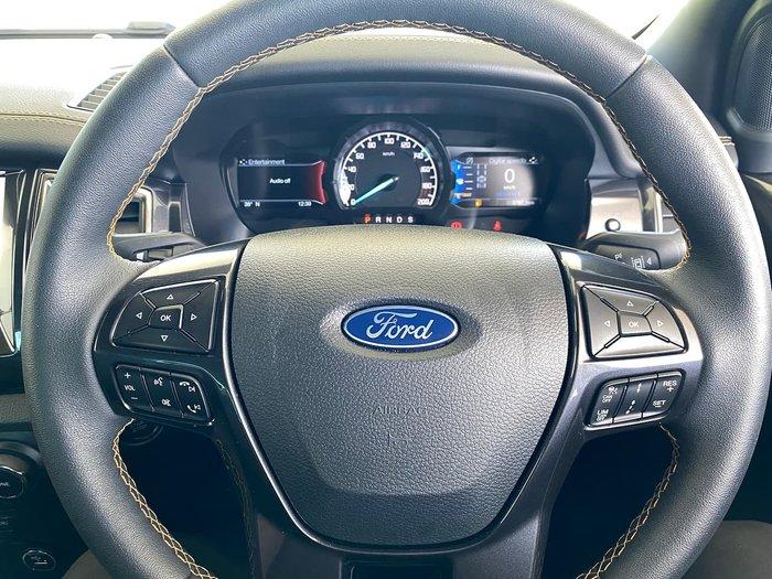 2020 Ford Ranger Wildtrak PX MkIII MY20.25 4X4 Dual Range White