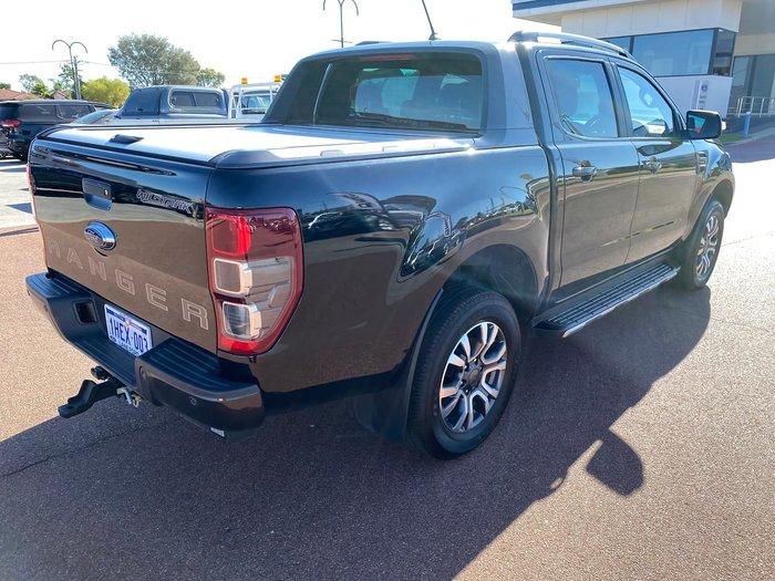 2019 Ford Ranger Wildtrak PX MkIII MY19 4X4 Dual Range Black