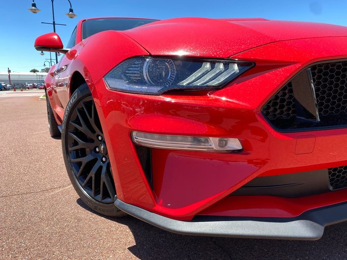 2018 Ford Mustang GT FN MY18 Red