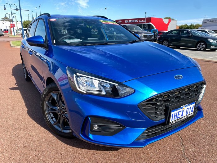 2019 Ford Focus ST-Line SA MY19.25 Blue