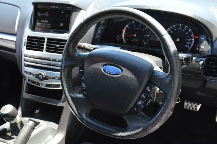2016 Ford Falcon Ute XR6 FG X SILVER