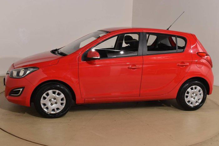 2012 Hyundai i20 Active PB MY13 Electric Red