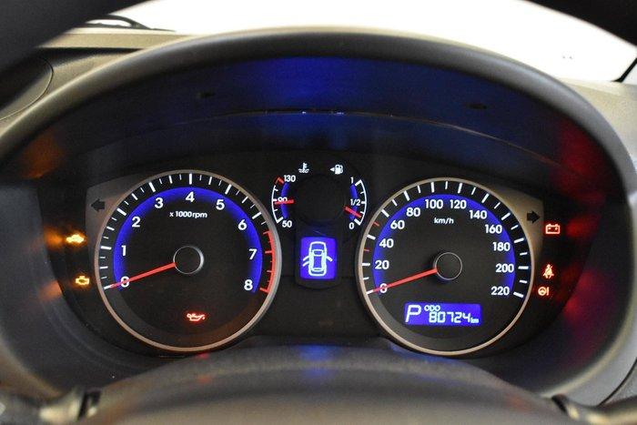 2012 Hyundai i20 Active PB MY13 Electric Red