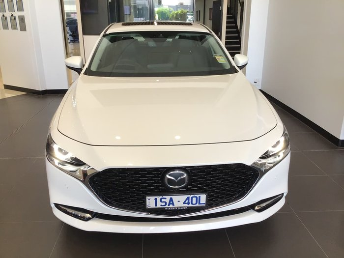 2020 Mazda 3 X20 Astina BP Series White