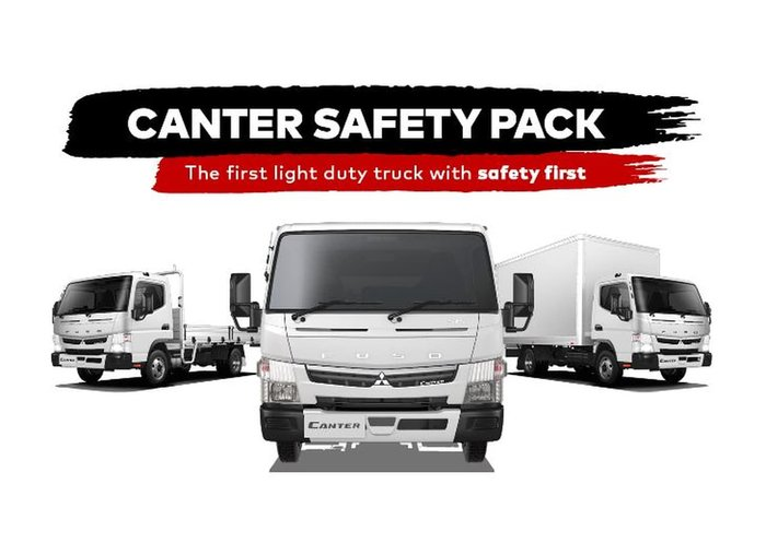 2021 FUSO CANTER 815 White