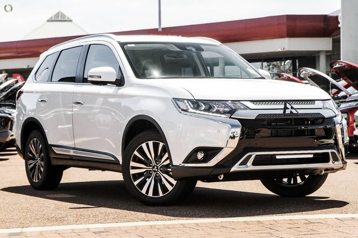 2020 Mitsubishi Outlander Exceed ZL MY21 4X4 On Demand White