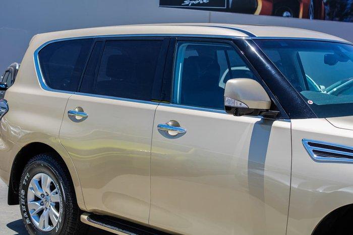 2013 Nissan Patrol Ti-L Y62 4X4 Dual Range Gold
