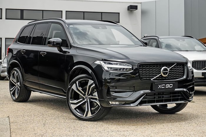 2020 Volvo XC90 T6 R-Design MY21 4X4 On Demand Black