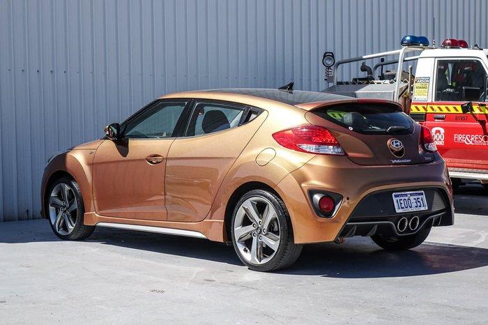 2012 Hyundai Veloster SR Turbo FS2 Orange