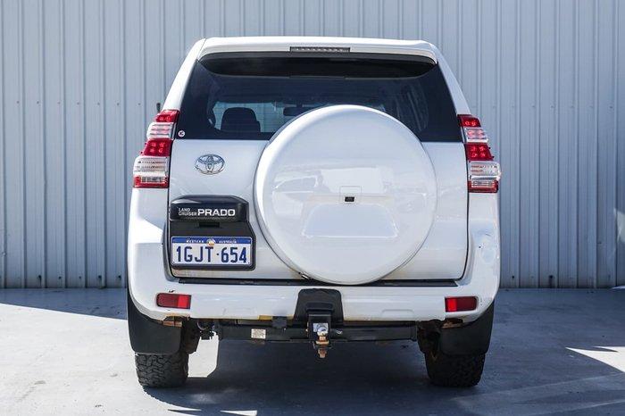 2015 Toyota Landcruiser Prado GX GDJ150R 4X4 Dual Range White
