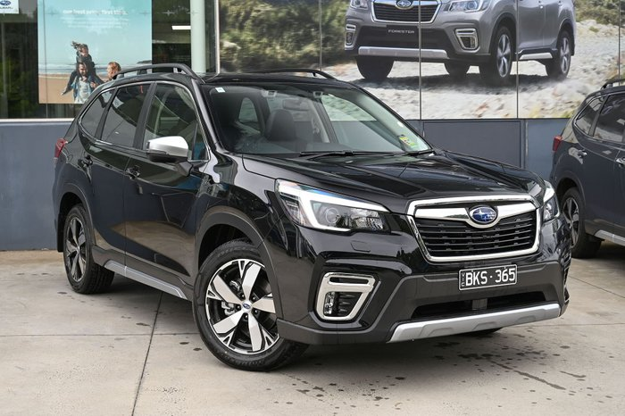 2020 Subaru Forester 2.5i-S S5 MY21 Four Wheel Drive Crystal Black