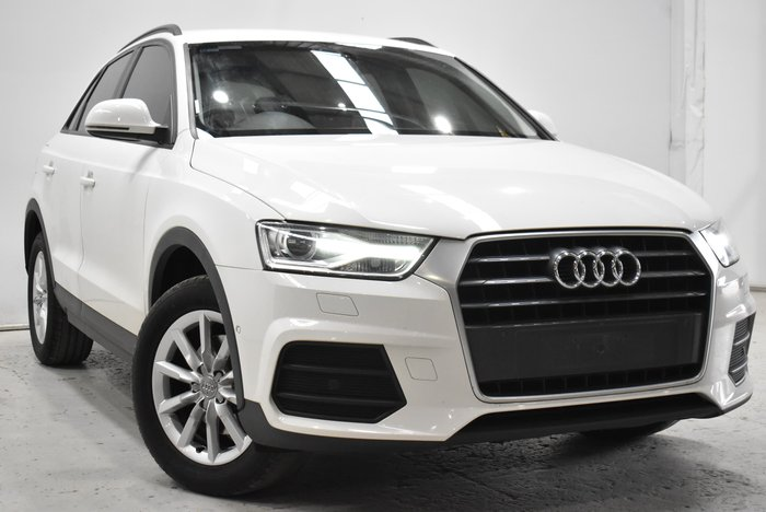 2018 Audi Q3 TFSI 8U MY18 Cortina White