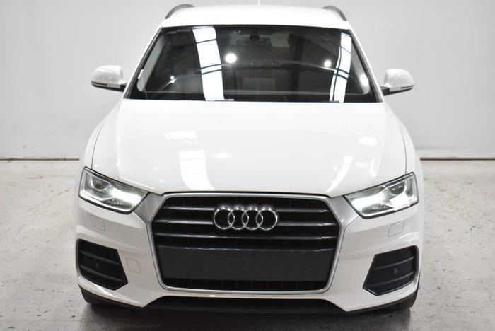 2018 Audi Q3 TFSI 8U MY18 Cortina White