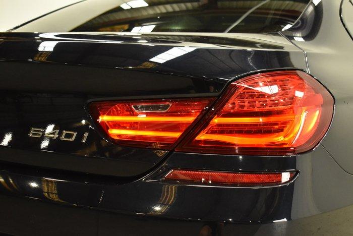 2016 BMW 6 Series 640i F06 LCI Carbon Black