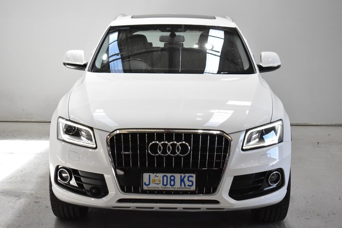 2016 Audi Q5 TDI 8R MY16 Four Wheel Drive White