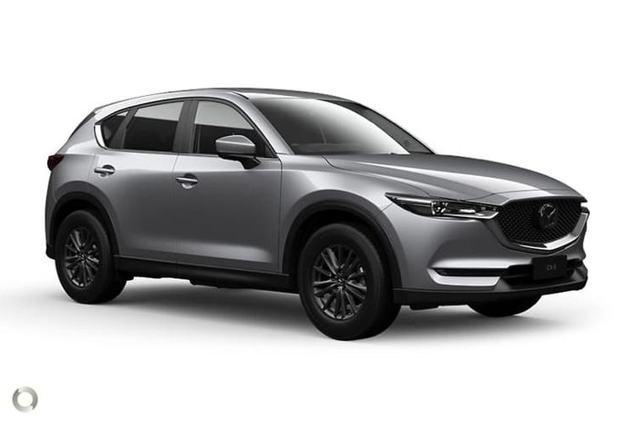 2020 Mazda CX-5 Maxx Sport KF Series 4X4 On Demand Sonic Silver