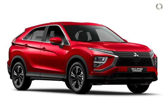 2020 Mitsubishi Eclipse Cross ES YB MY21 Red Diamond