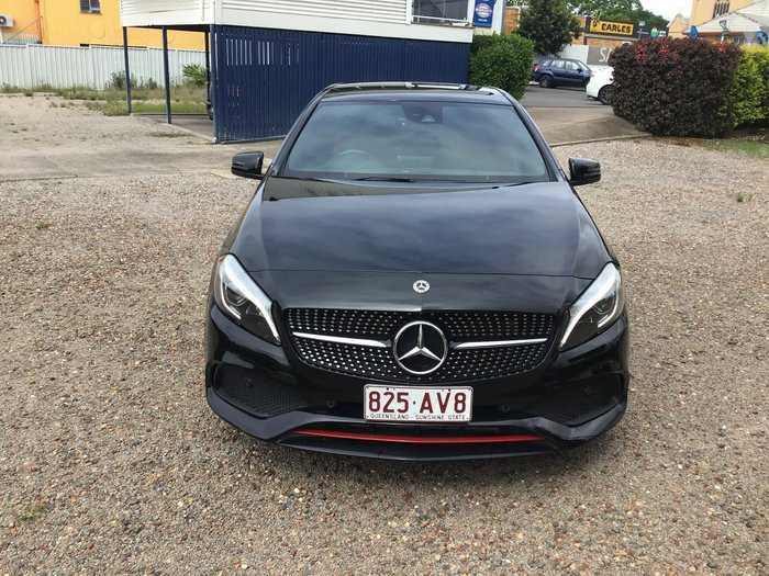 2017 Mercedes-Benz A-Class A250 Sport W176 Four Wheel Drive Black