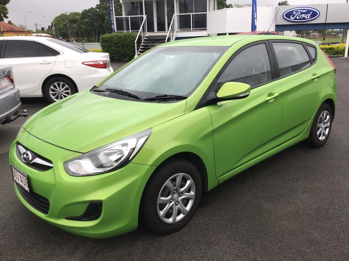 2014 Hyundai Accent Active RB2 MY15 Green