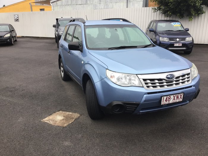 2011 Subaru Forester XS S3 MY11 Four Wheel Drive Blue