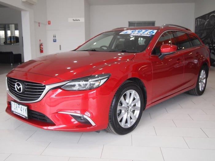 2017 Mazda 6 Touring GL Series Red