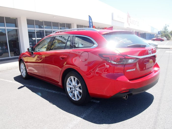 2017 Mazda 6 Touring GL Series Red