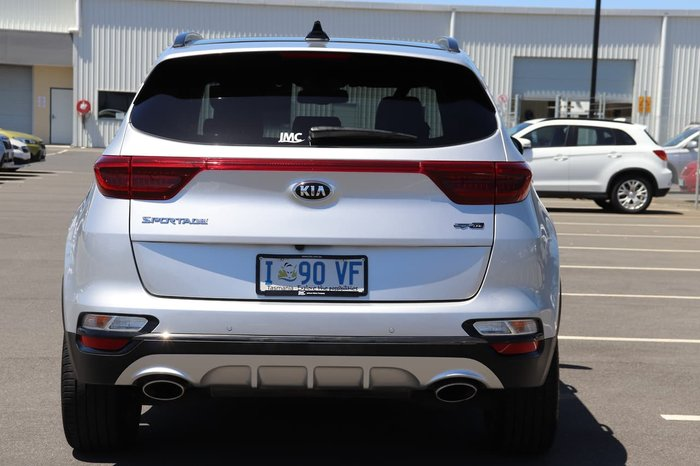 2019 Kia Sportage GT-Line QL MY20 4X4 On Demand Silver