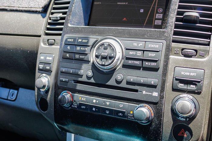 2012 Nissan Navara ST-X 550 D40 Series 5 4X4 Silver
