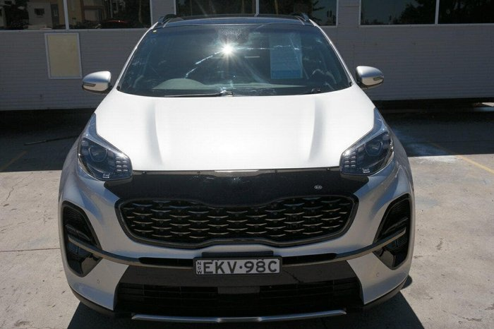 2019 Kia Sportage GT-Line QL MY19 4X4 On Demand Silver